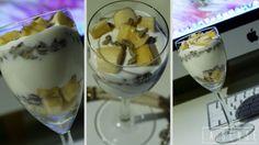 Mussli#Mac#evening work#yogurt#banana