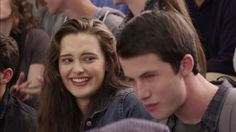 """Katherine Langford in Netflix's new original series, """"13 Reasons Why"""", an adaptation of the 2007 book of the same name by Jay Asher (screenshot/Netflix)"""