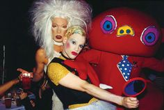 James St. James and Richie Rich at Limelight, 1993.