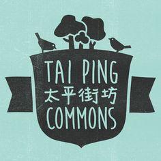 Tai Ping Commons on Behance Tai Ping, Cool Logo, Drink Sleeves, Notes, Graphic Design, Cool Stuff, Hong Kong, Illustration, Behance