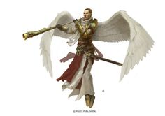 Angel by Windmaker | Create your own roleplaying game books w/ RPG Bard: www.rpgbard.com | Pathfinder PFRPG Dungeons and Dragons ADND DND OGL d20 OSR OSRIC Warhammer 40000 40k Fantasy Roleplay WFRP Star Wars Exalted World of Darkness Dragon Age Iron Kingdoms Fate Core System Savage Worlds Shadowrun Dungeon Crawl Classics DCC Call of Cthulhu CoC Basic Role Playing BRP Traveller Battletech The One Ring TOR
