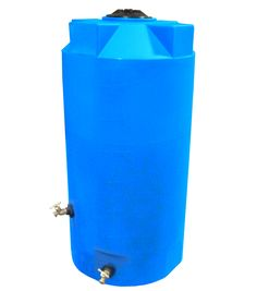 Poly-Mart Emergency Water Storage Tank | 250 Gallons | Tanks For Less