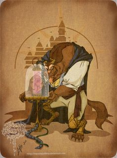 Disney Steampunk Character Cutomization Images - The Beast