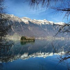 Iseltwald on the Lake of Brienz.