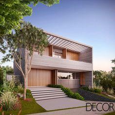 Linhas retas e contemporâneas dão forma à residência planejada em Porto Alegre. Veja mais: http://www.revistadecor.com.br