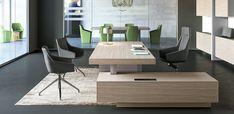 Las Mobili Jera executive desk, Orlandini design