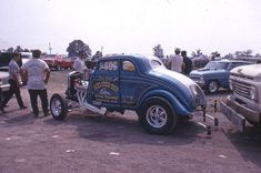 Willys Coupe Gassers   1933 Willys Dragster - Virgil Cates 1965 World Champion