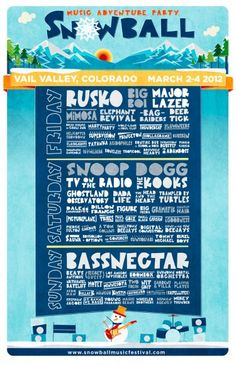 SnowBall Music Festival 2012 Adds Snoop Dogg, The Kooks, Ghostland Observatory and More to Lineup | mxdwn.com News