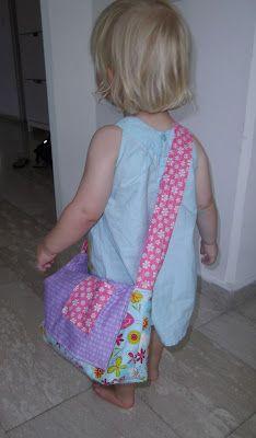 sew bossi: Baby doll diaper bag