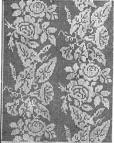 Filet crochet curtain pattern   Shop filet crochet curtain pattern