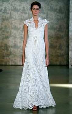 I could only wish for a dress this pretty Simple Wedding Dress With  Sleeves 8a20e3b7ee0
