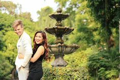 Photography by Chestknots Studio Styling by Lifestyle by Feliz Hair and Make up by Shin Chua Engagements, Fountain, The Past, Memories, Weddings, Create, Photography, Happy, Memoirs