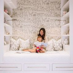 This is such a cute sleeping nook. @kathykuohome wanted to create a special place that would last well into her daughters teen years. I think she nailed it! PS. Today is World Down Syndrome Awareness Day. Check one post back to see how we are celebrating. You can also read the birth story of a mom who unknowingly gave birth to a sweet baby with Down syndrome. (link in profile) These sweet kids and adults add so much joy to their families and others.