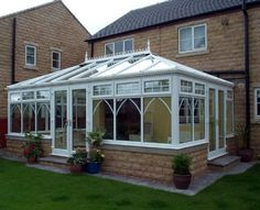 Edwardian conservatory designed and built by Kingfisher Windows.