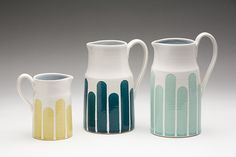 dahlhaus striped pitchers