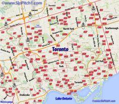 nice 93 HARBORD MAP TORONTO