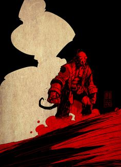 Hellboy by Pat Boutin *