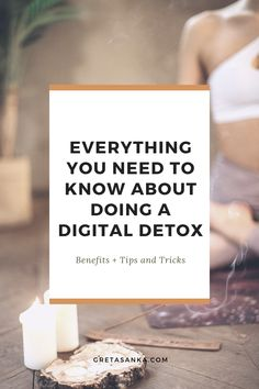 Some benefits of a digital detox include: Declutters the mind, reduces negative health effects, creates stronger physical connections with people