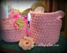 Easter Basket Purse Free Crochet Pattern With PDF