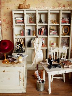 Miniature atelier by petipetit