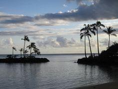 At the Kahala Hotel, Oahu