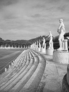 Stadio dei Marmi, foro ítalico. Roma,...