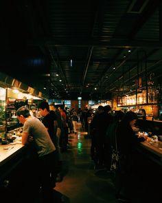 Idea for Restaurant, People, Lights