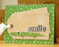 Smile Crocodile by Lucy Abrams, via Flickr