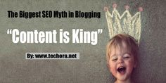 """""""Content is King"""" - The Biggest SEO Myth in Blogging"""
