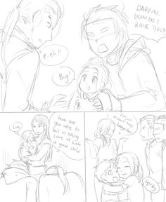 """heroiclegendofcinnamonroll: """" A sitcom where Hermes is unfortunately Daryun's childhood friend and he needs to raise Arslan for 5 years to prove something to his dad but he doesn't know how to raise things. He had a pet lizard once but only for 5..."""