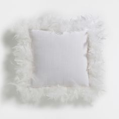 PURE WHITE FEATHER CUSHION - Must Have | Zara Home Suomi / Finland