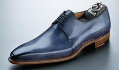 Carlos Santos Blue LISBOA Lace Up. Hot Shoes, Blue Shoes, Men's Shoes, Shoe Boots, Dress Shoes, Walk In My Shoes, Me Too Shoes, Carlos Santos Shoes, Derby
