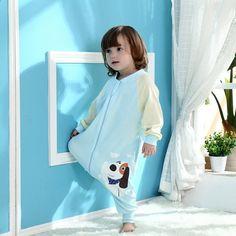 Baby Boy Girl Sleeping Bag Romper 2 Vuotta Puhdas Puuvilla Irrotettava Hiha Vapaa-ajanvaatteet Koti Sänky Vauvan Nukkuminen Talvi Lämmin Sleeping Bags, Hobbies, Cotton, Winter, House, Sleeves