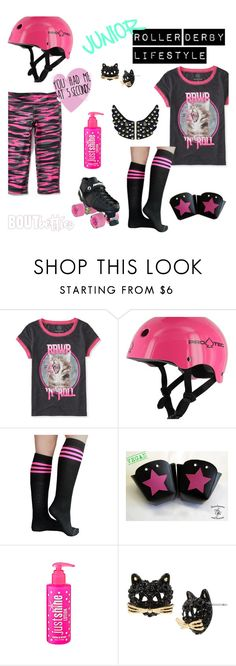 Junior Roller Derby Lifestyle by Bout Betties on Polyvore featuring Betsey Johnson, Protec