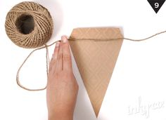 DIY Bunting - with coloured paper