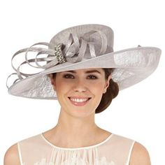 ca4a6654da8 Hatbox Grey diamante bow hat. Occasion HatsOccasion WearSpecial Occasion Wedding ...