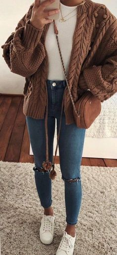 cute outfits for women - cute outfits ; cute outfits for school ; cute outfits with leggings ; cute outfits for women ; cute outfits for winter ; cute outfits for school for highschool ; cute outfits for spring Fall Outfits For Teen Girls, Trendy Fall Outfits, Teenage Outfits, Winter Fashion Outfits, Look Fashion, Stylish Outfits, Fashion Ideas, Womens Fashion, Women Fall Outfits