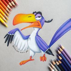 Magical Zazu ist der coolste within the König der Löwen , weil er im search phrases are related Teil , Again to the S. - Breathtaking Zazu ist der coolste with. Colorful Drawings, Prismacolor Art, Disney Art Drawings, Disney Drawings, Lion King Drawings, King Drawing, Disney Paintings, Animated Drawings, Cute Drawings