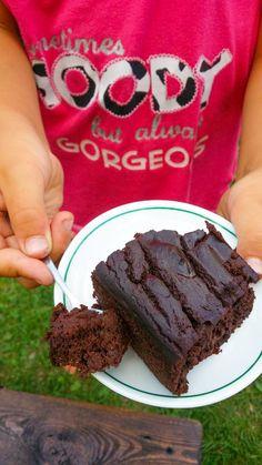 brownie z czerwonej fasoli Brownies, Food And Drink, Sweets, Chocolate, Drinks, Desserts, Free, Diet, Cake Brownies