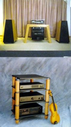 Ancient history, early hi-fi stands!