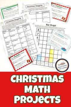 21 Christmas Chapter Books for Children - peanut butter fish lessons Holiday Activities, Math Activities, Math Resources, Christmas Math Worksheets, Homeschool Math, Homeschooling, Effective Learning, Math Task Cards, Math Projects