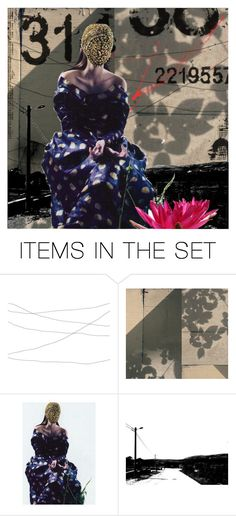 """""""Crowded Places"""" by livnd ❤ liked on Polyvore featuring art, Collage and artset"""