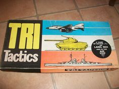 Vintage Tri Tactics Board Game