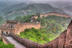 1 - Grande Muralha, China: esta fortificação foi erguida em partes, ao longo de dois milênios, somen... - Shutterstock