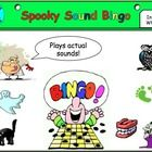 This resource uses ppt to play sound files which the students guess while marking off their bingo sheets. Great fun for Halloween or for using in a...