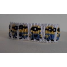 Bracelet dessin Minions