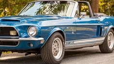 1968 Shelby GT 350 Convertible Ford Mustang Shelby Cobra, Mustang Boss, P51 Mustang, Ford Shelby, Shelby Gt500, Mustangs, Sport Cars, Motor Car, Exotic Cars
