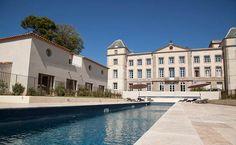 Vineyard apartments at Chateau de la Redorte, Languedoc, France