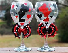 disney wine glass - Google Search