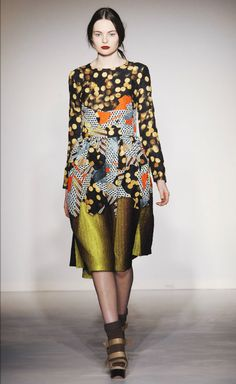 While you may not wear these lovely combos (at least not all at once), I love the pattern on pattern inspiration. Basso and Brooke are known for their prints. For their F/W 2012 collection. Via trendland.com.